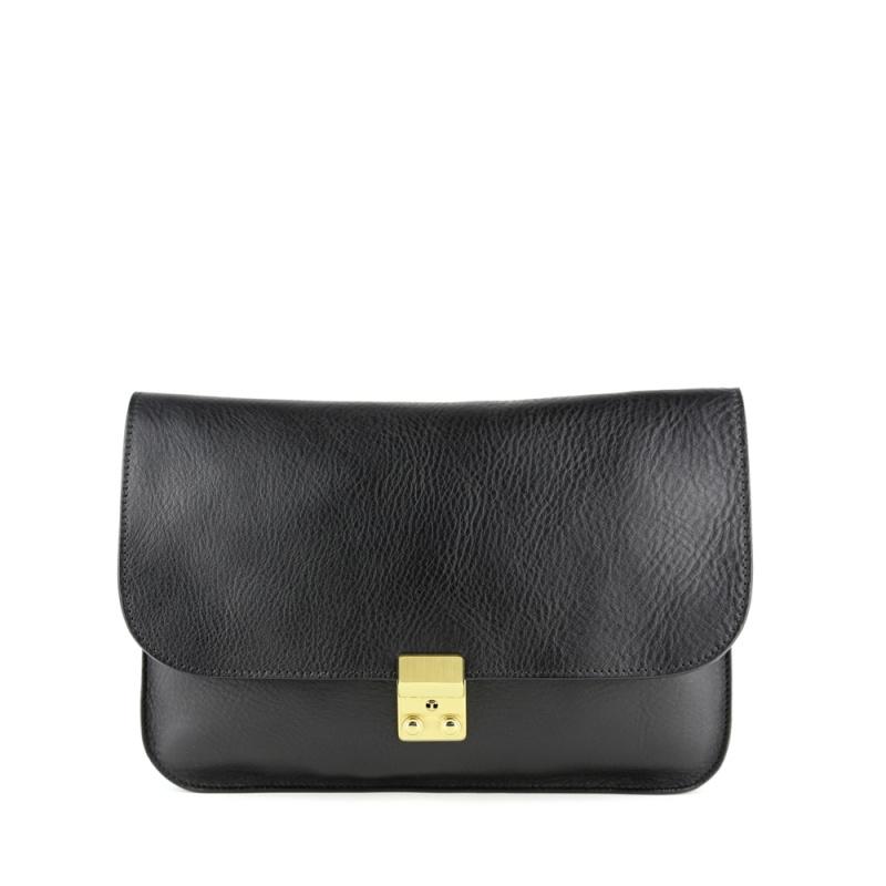 Sadie Shoulder Bag  in Smooth Tumbled Leather