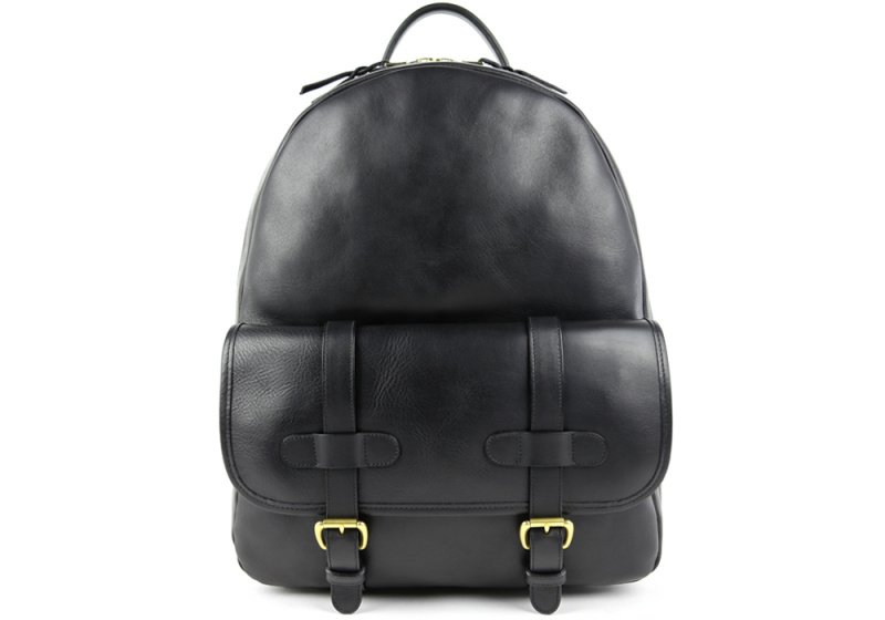 Zipper Backpack-Black in