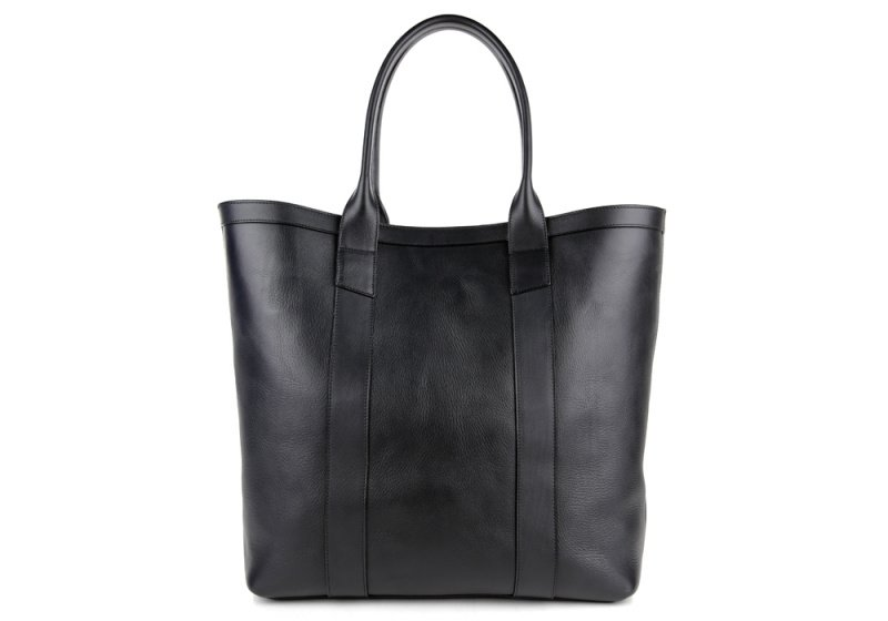 Tall Tote -Black-Unlined in