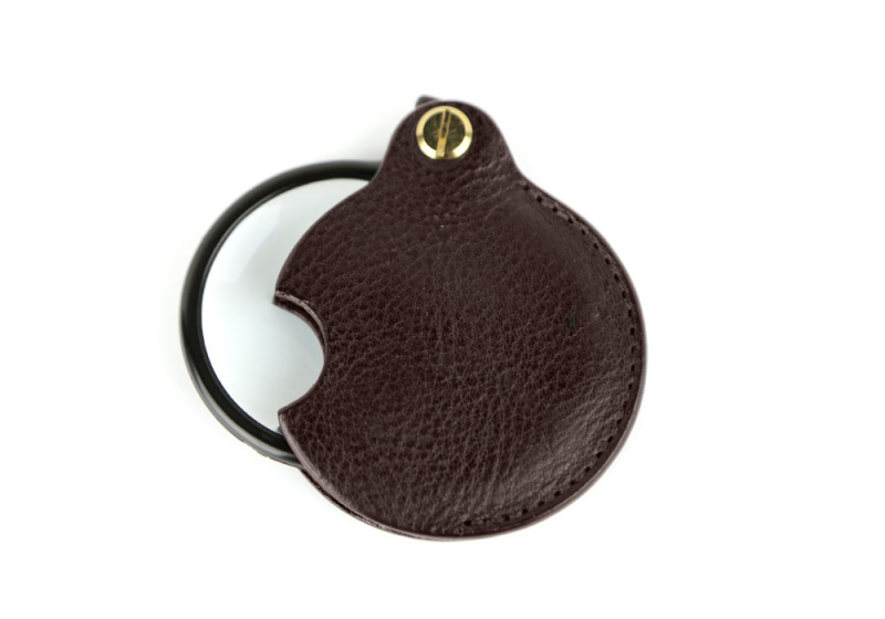 Pocket Magnifying Glass-Chocolate in