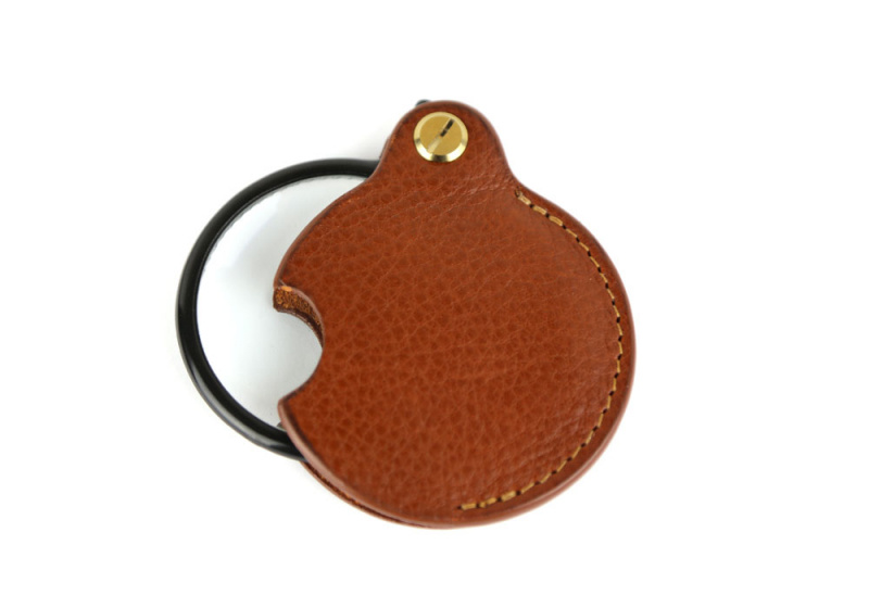 Pocket Magnifying Glass-Cognac in
