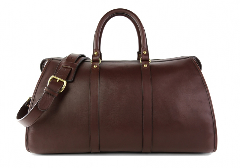 Hampton Travel Duffle -Chocolate in