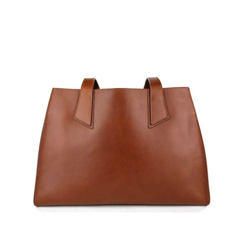 Ellie Tote Bag in Smooth Tumbled Leather