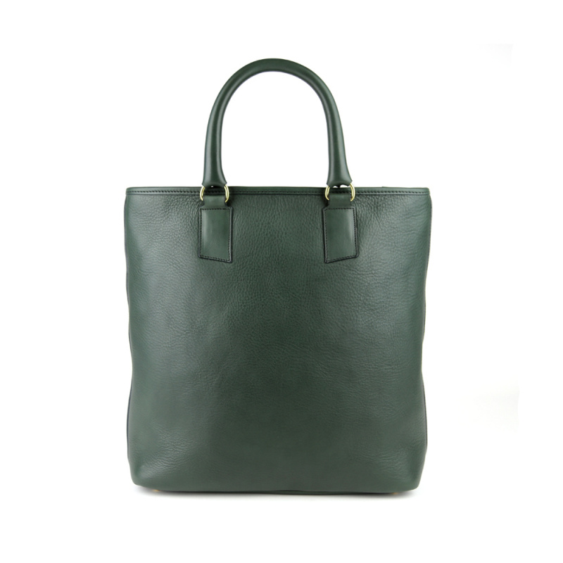 Jackie Tote in Smooth Tumbled Leather
