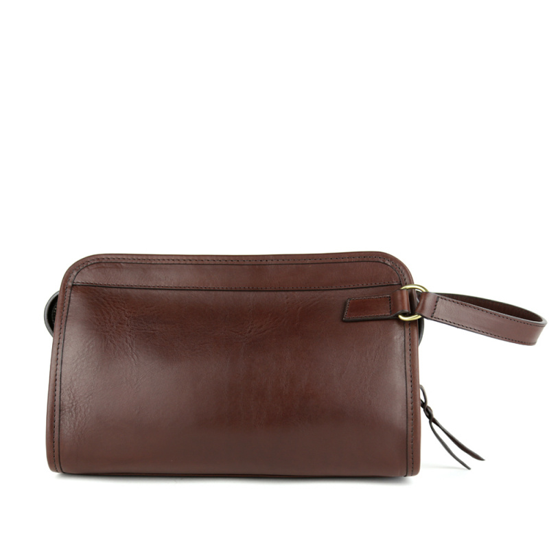 Small Travel Kit  in Smooth Tumbled Leather
