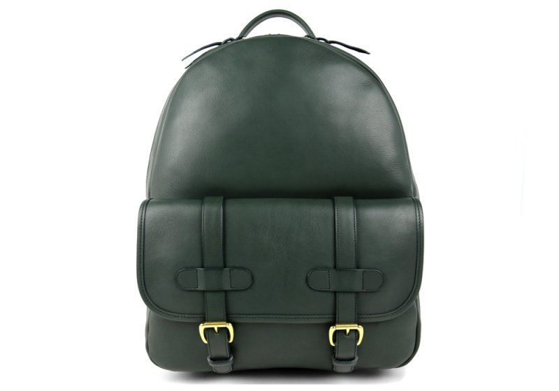 Zipper Backpack-Green in