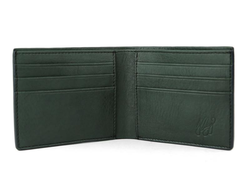 Bifold Wallet-Green in