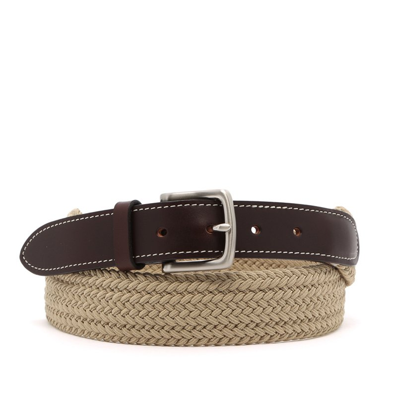 Solid Woven Belt in solid_stretch
