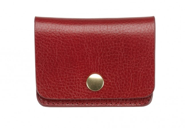 Coin Wallet-Red in