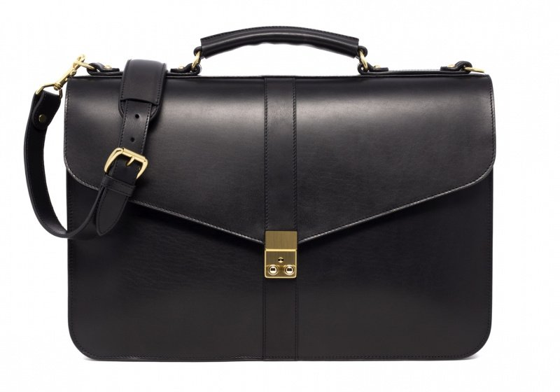Lock Briefcase-Black in