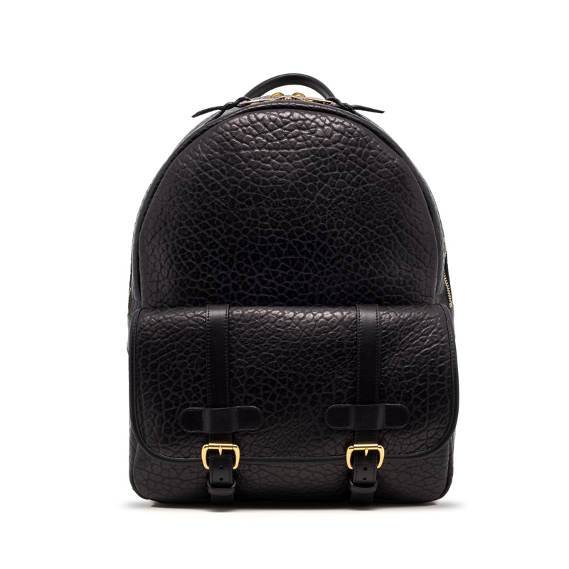 Hampton Zipper Backpack-Black in