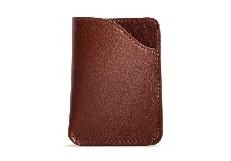 Card Wallet-Chestnut in