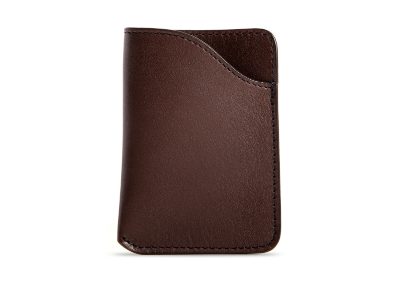 Card Wallet-Chocolate in