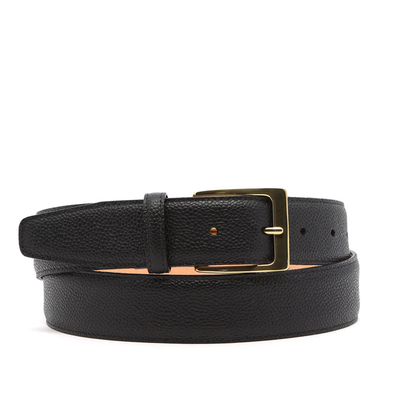 Scotch Grain Leather Belt in Hatch_Grain