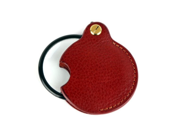 Pocket Magnifying Glass-Red in
