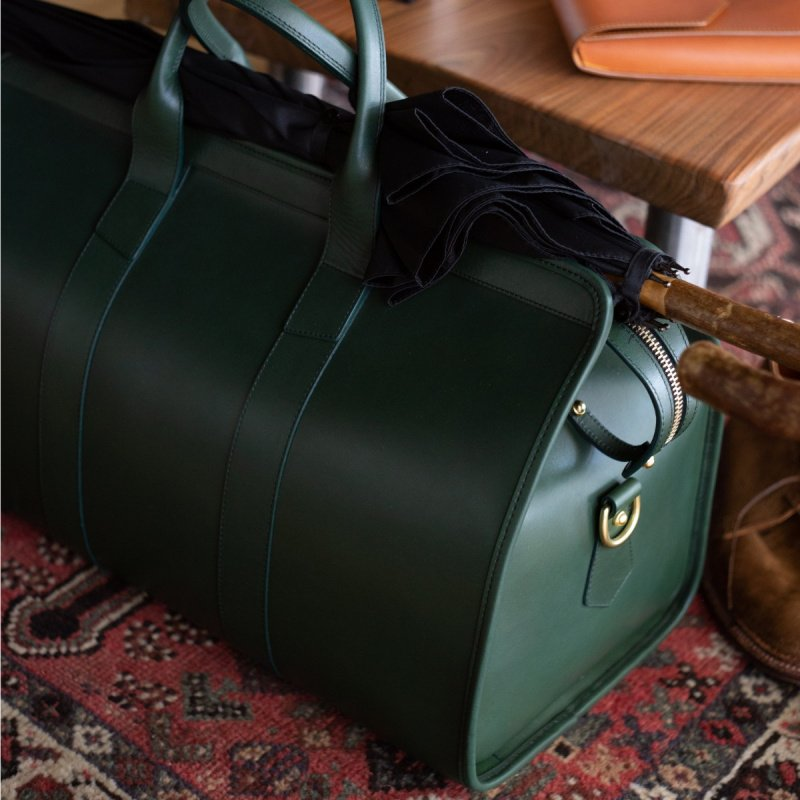 Signature Travel Duffle  in Harness Belting Leather