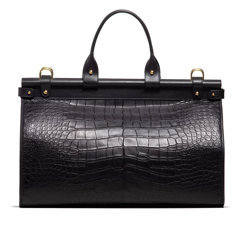 American Alligator Carpet Bag