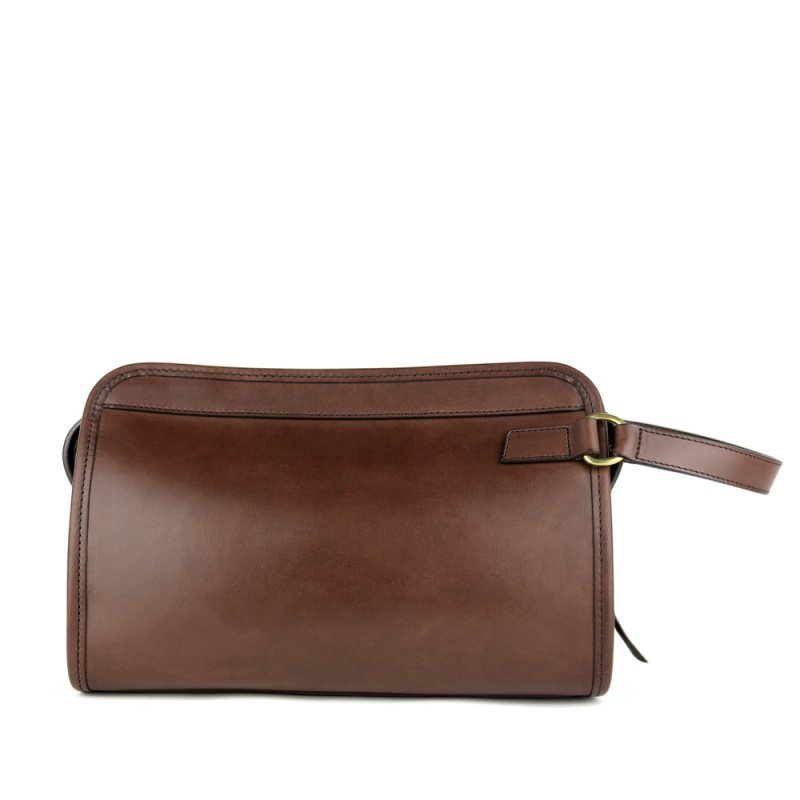 Small Travel Kit  in Harness Belting Leather