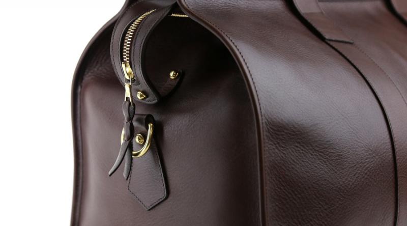 Riri Zipper on duffle bag