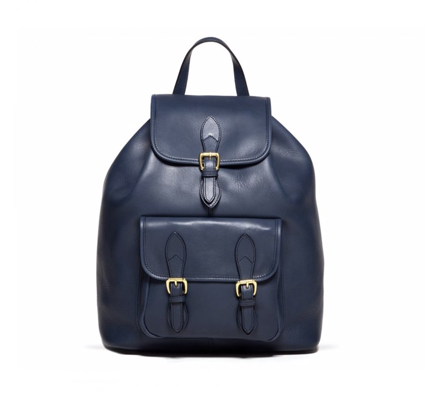 Classic Leather Backpack 1