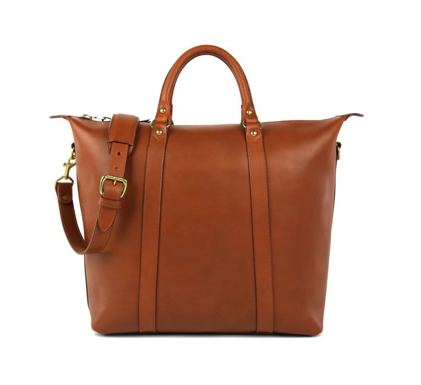Hampton Leather Tote Bag