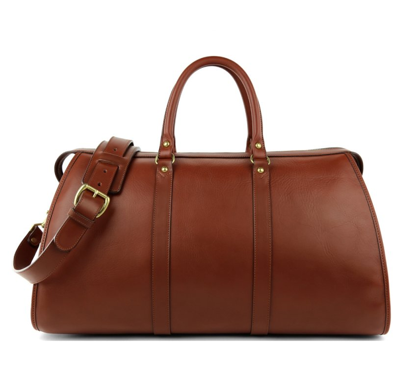 Leather Duffle Bag Frank Clegg 1