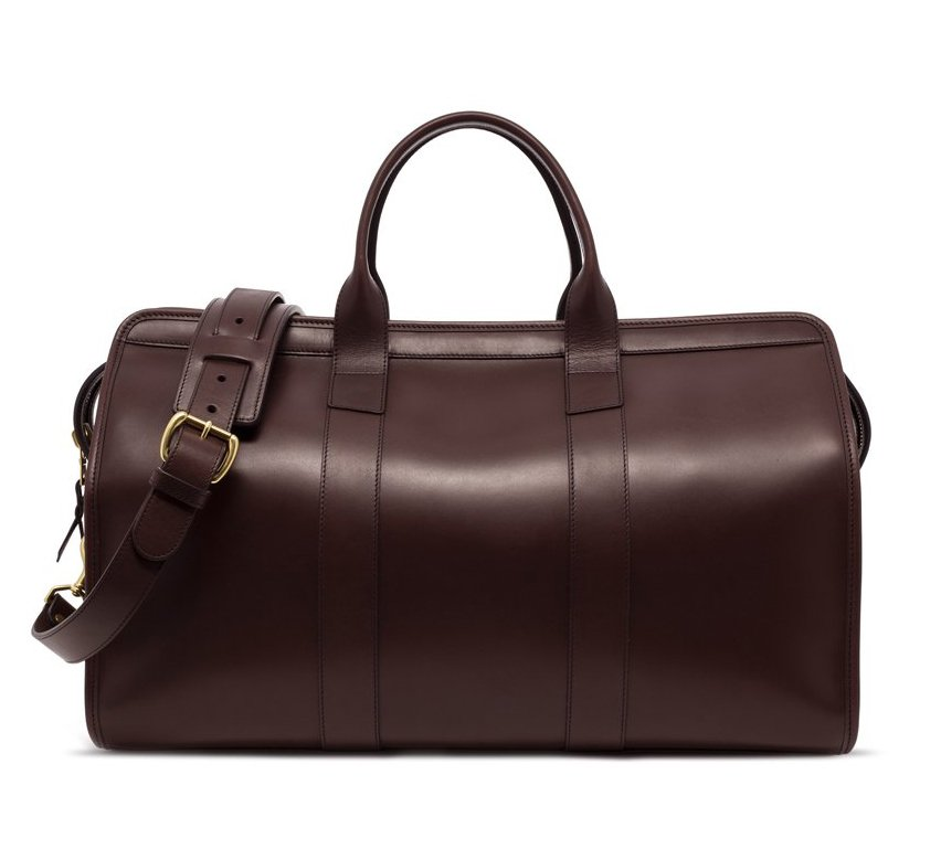 Leather Travel Duffle Frank Clegg