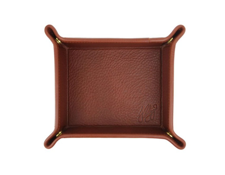 Leather Valet Trays