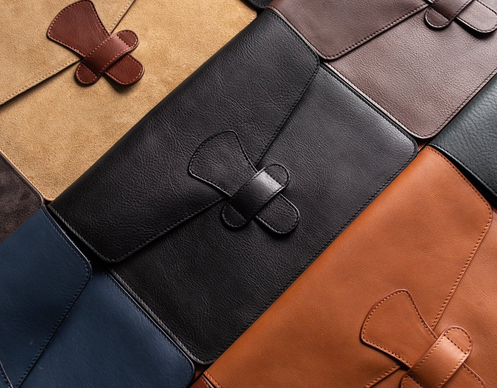 Handmade Leather iPad Cases, Covers & Sleeves