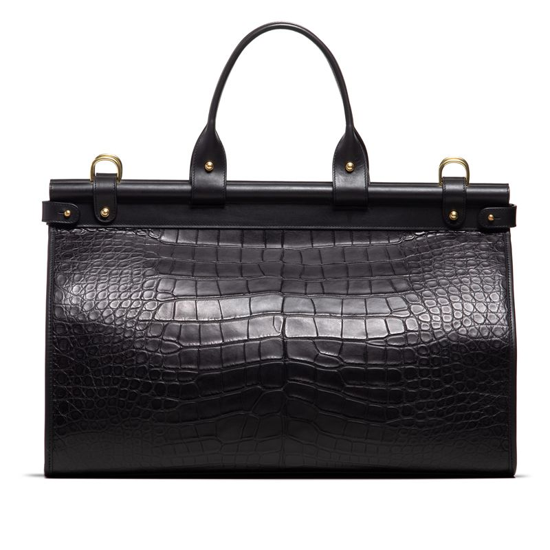 American Alligator Carpet Bag