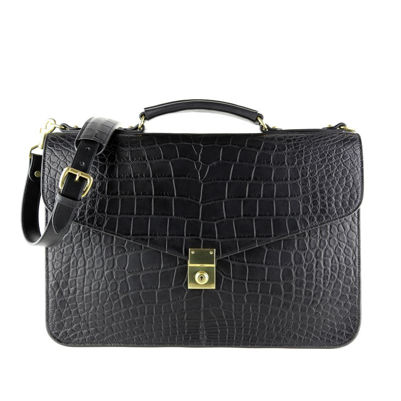 Alligator Lock Briefcase