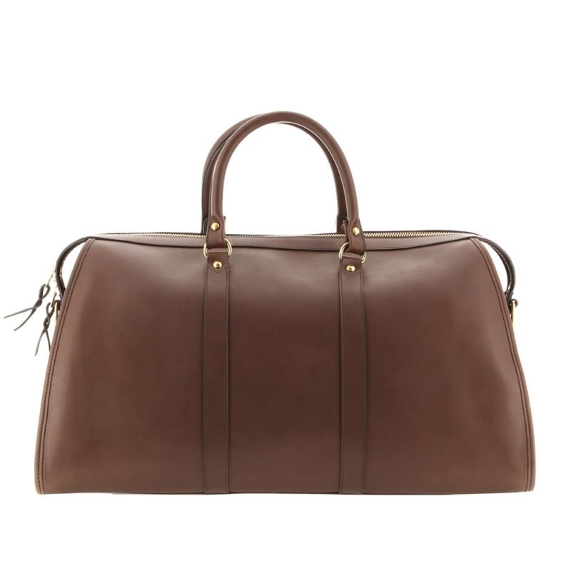 Hampton Duffle - Dark Taupe - Belting Leather