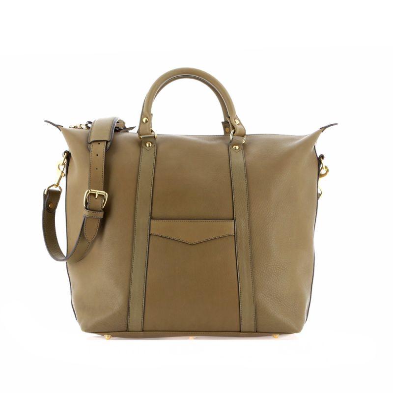 Hampton Tote - Moss - Supple Tumbled Leather