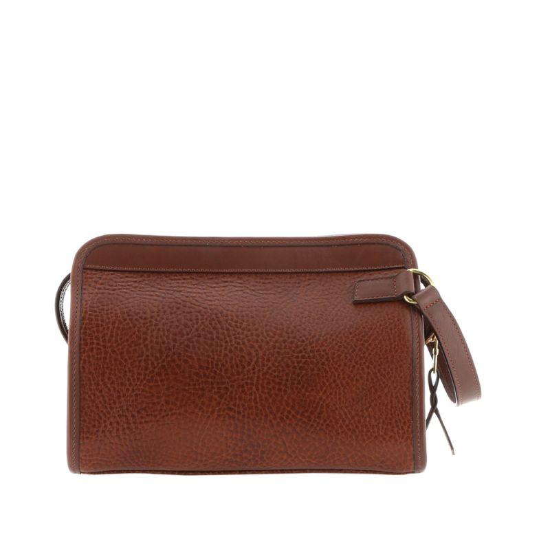 Large Travel Kit - Chestnut - Pebbled Grain Leather