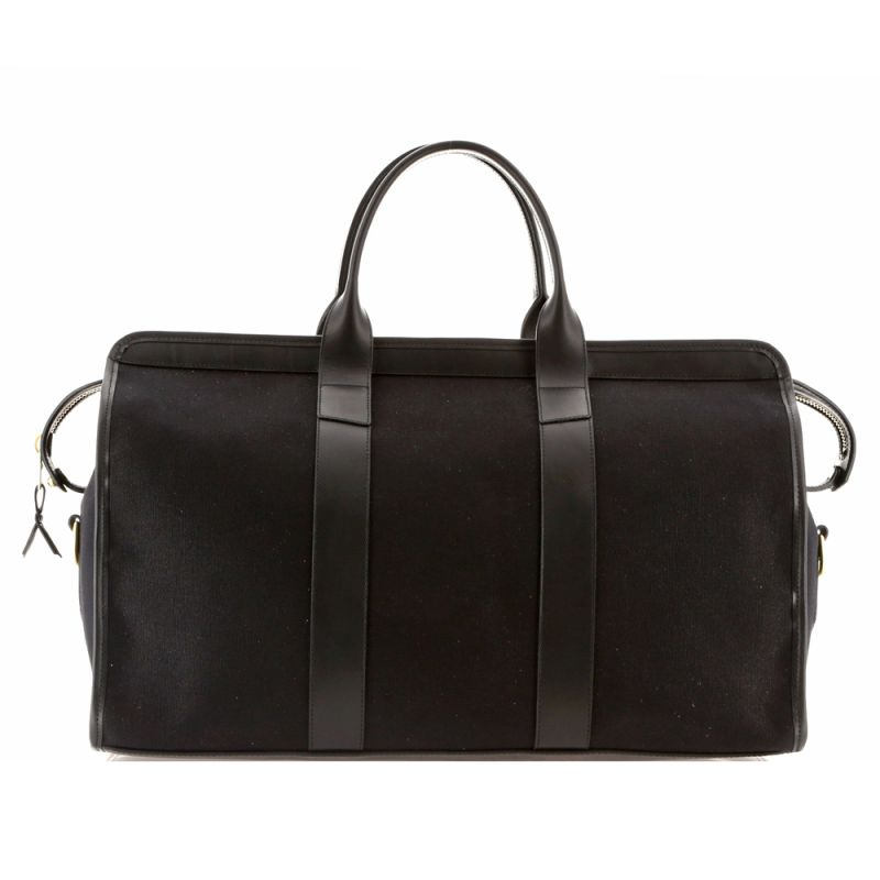 Signature Travel Duffle - Black - Canvas