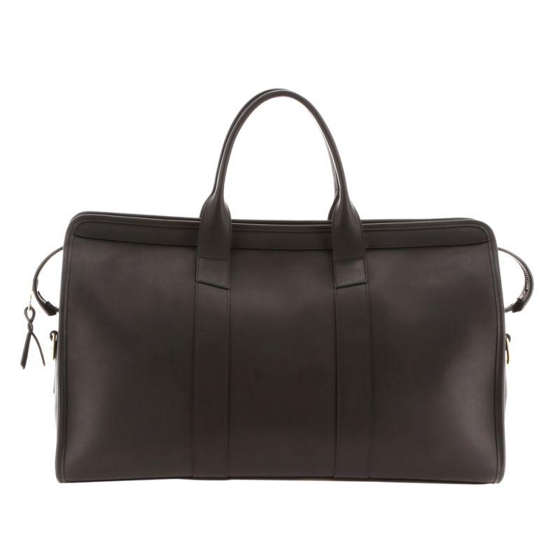 Signature Duffle - Matte Black/Black Interior - Smooth Tumbled Leather