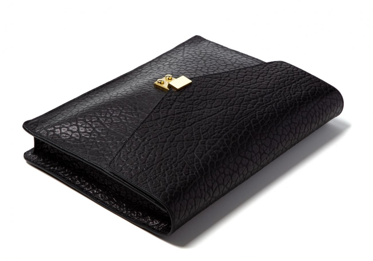 15 22 Lock Portfolio Shrunken Grain Leather Black7 1