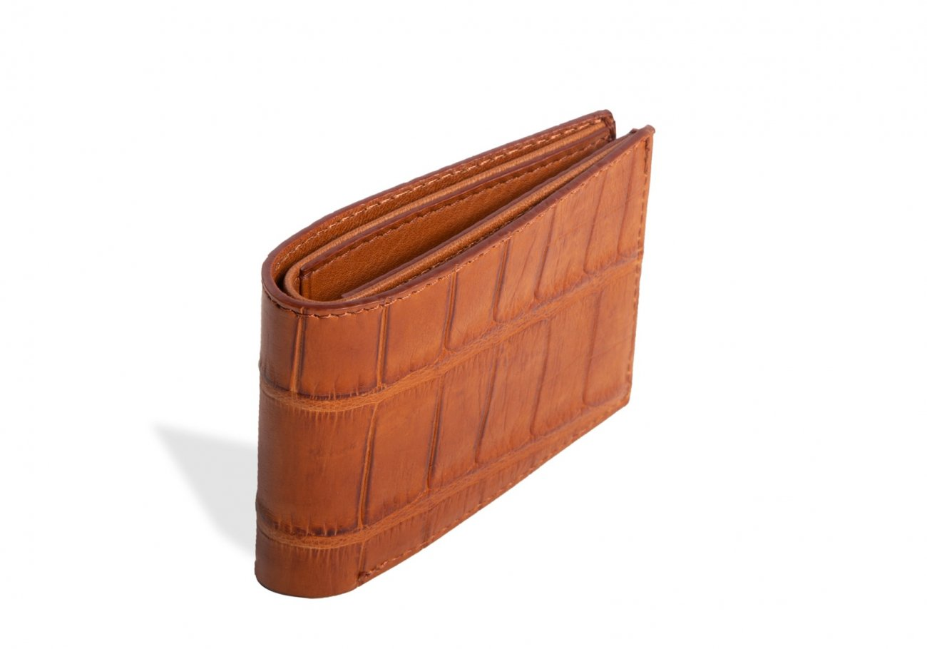 American Alligator Slim Wallet1