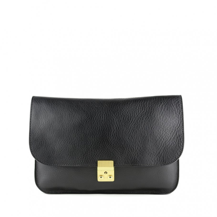 Black Sadie Shoulder Bag Frank Clegg Main