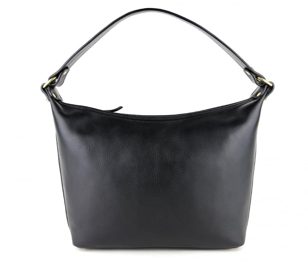 Black Daisy Shoulder Bag Frank Clegg Made In Usa 1