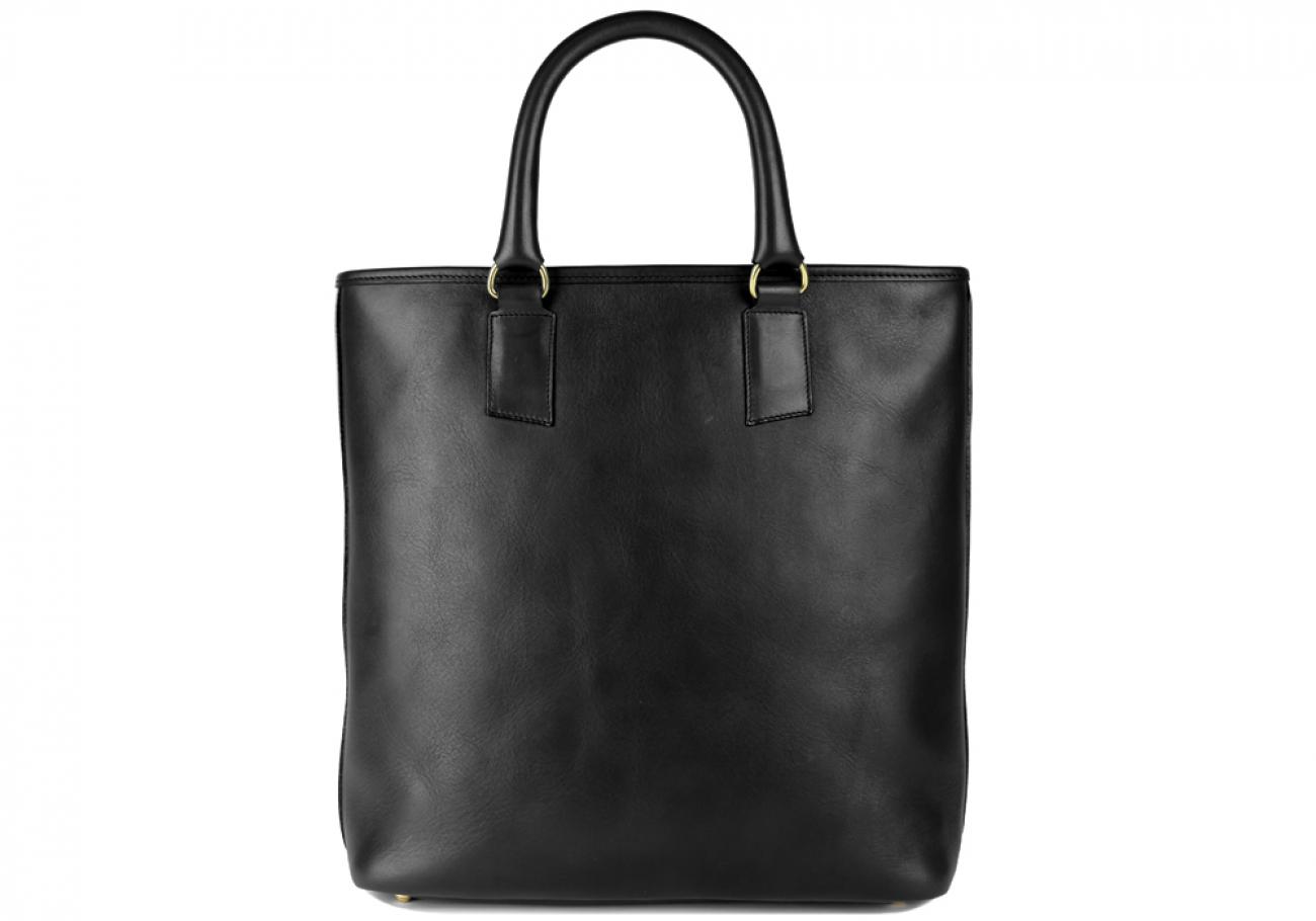 Black Jackie Handbag Frank Clegg Made In Usa 1