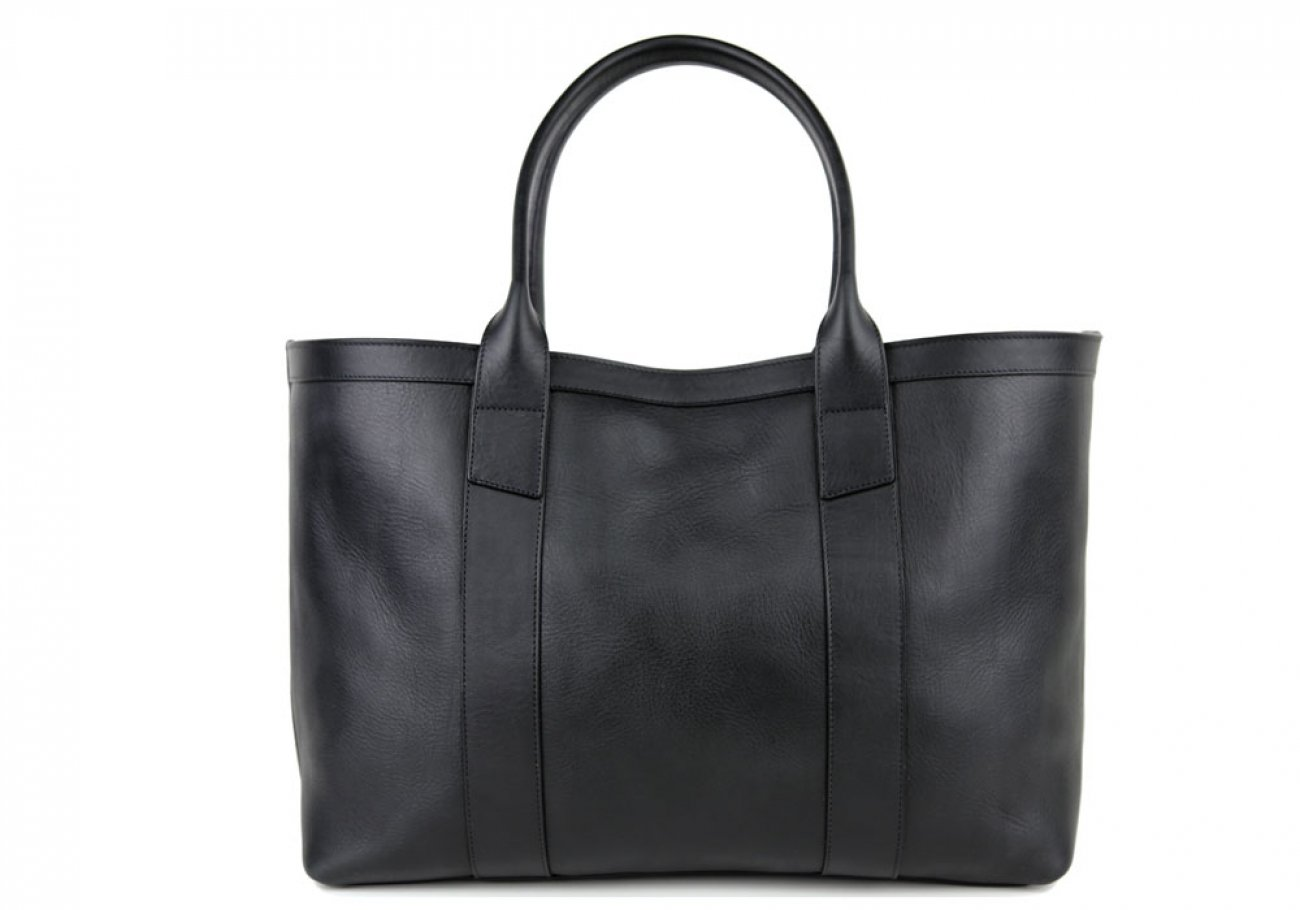 Black Large Working Tote Made In Usa Frank Clegg 1 1