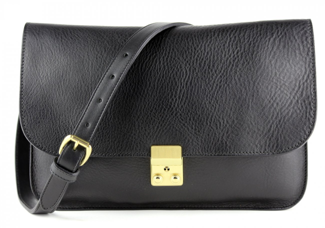 Black Lock Clutch Frank Clegg Made In Usa 1