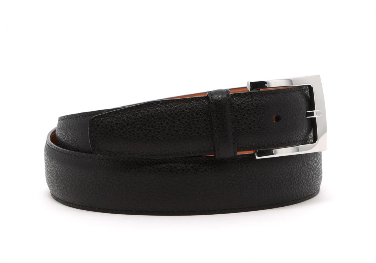 Black Sea Urchin Leather Belt2 2
