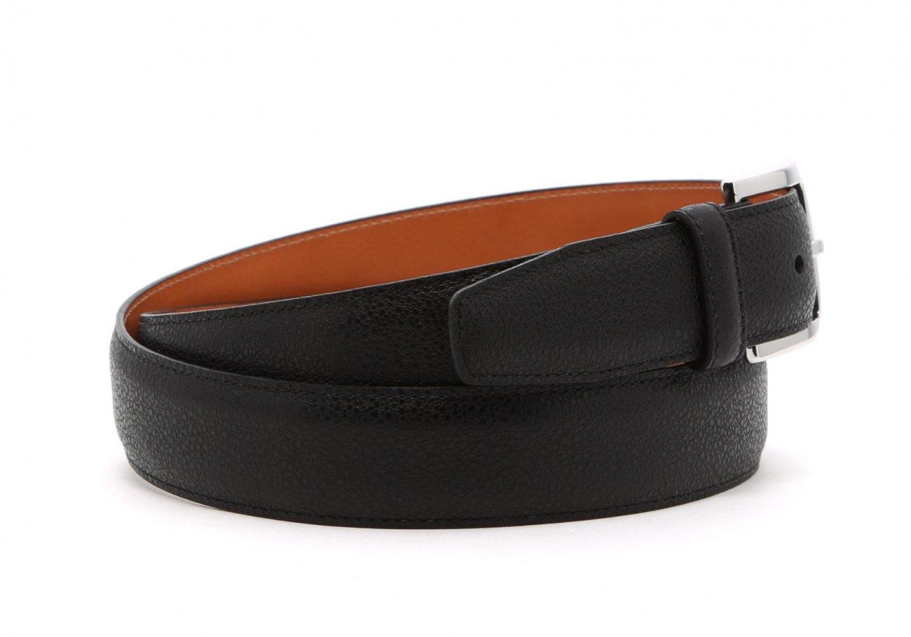 Black Sea Urchin Leather Belt3 2
