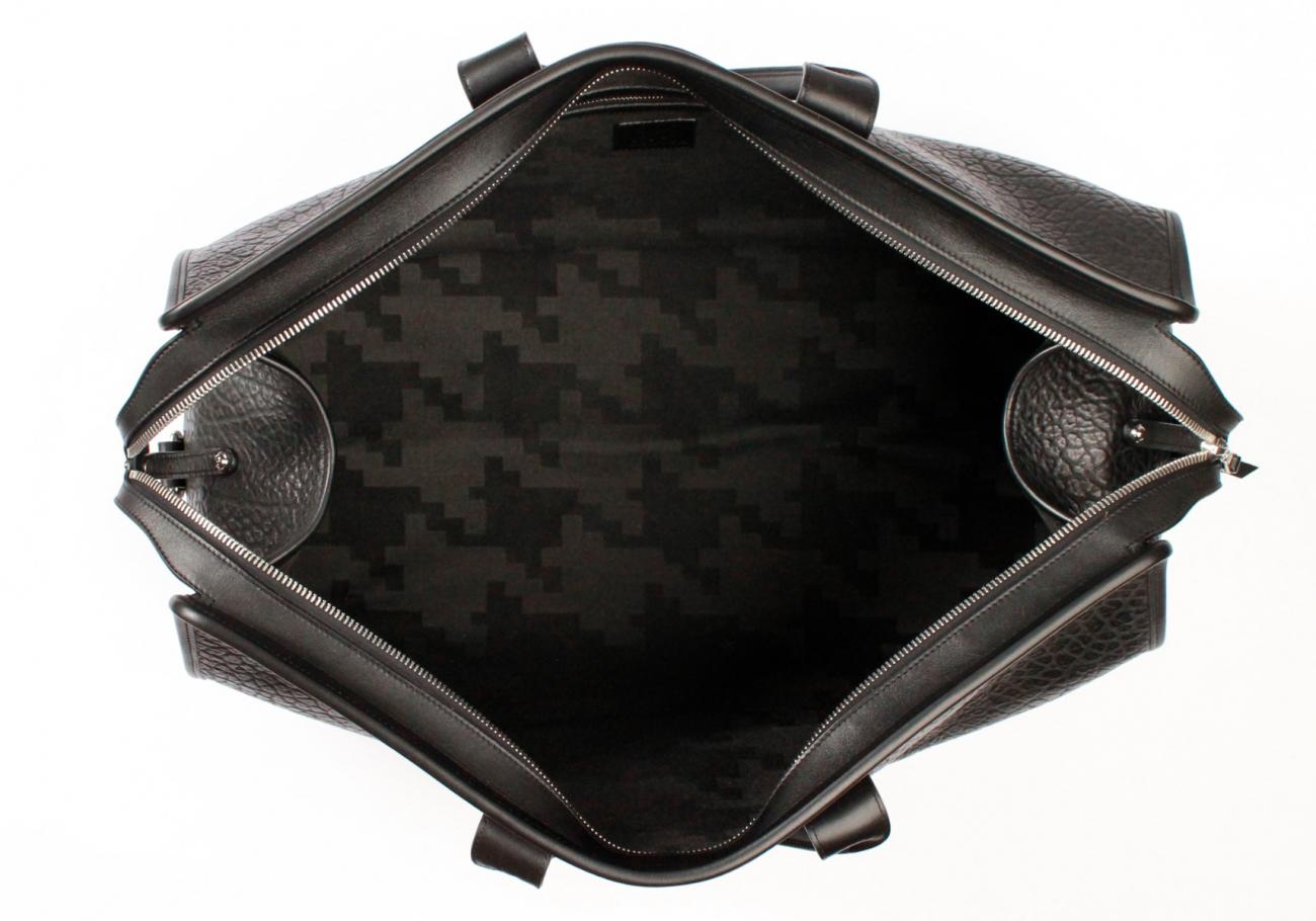 Black Shrunken Compass Duffle B