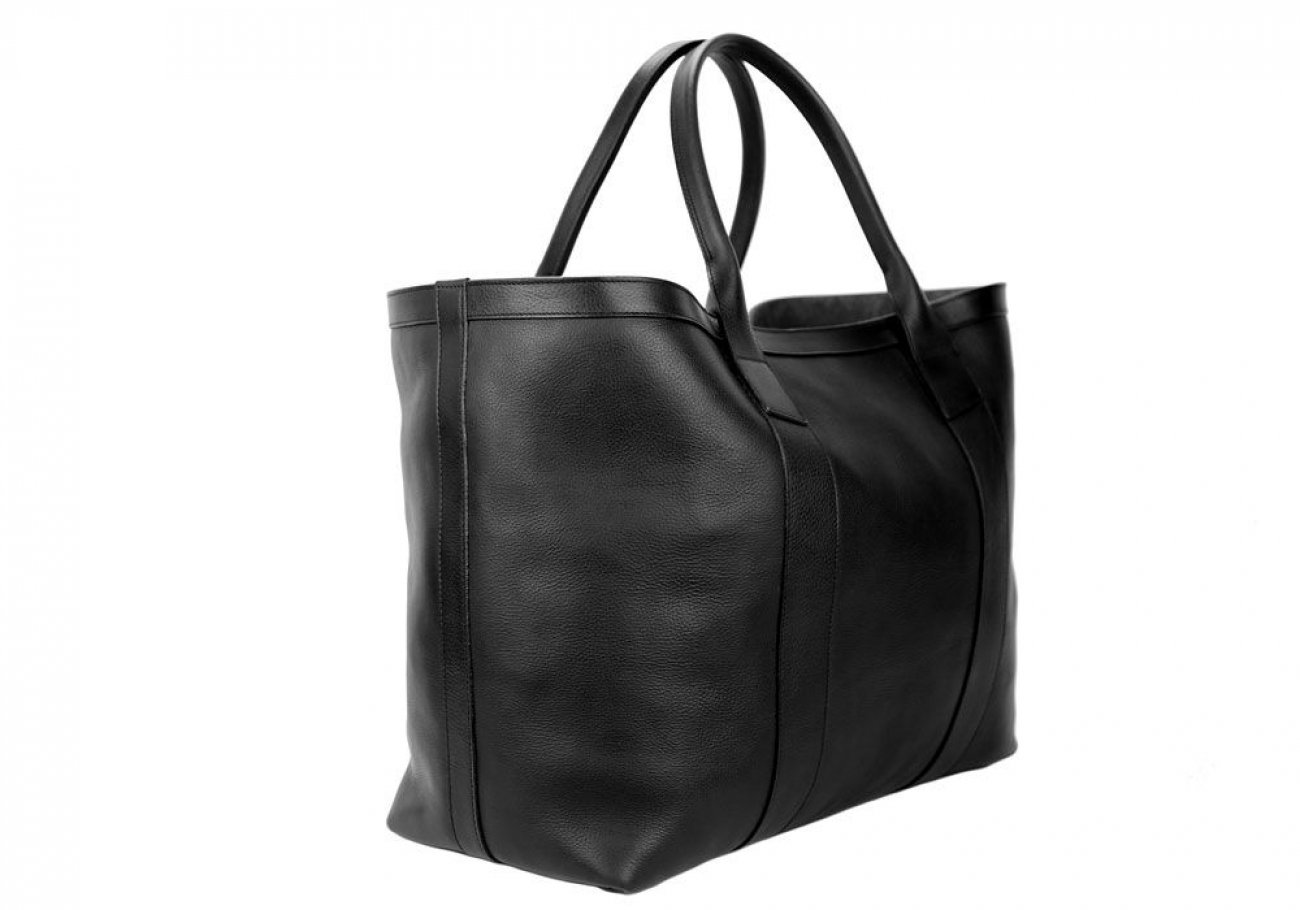 Black Signature Working Tote Made In Usa Frank Clegg 2 2