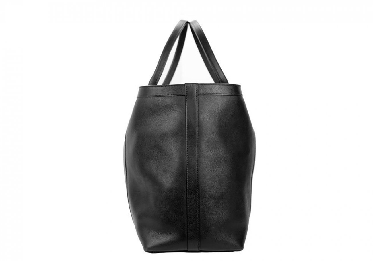 Black Signature Working Tote Made In Usa Frank Clegg 3 2