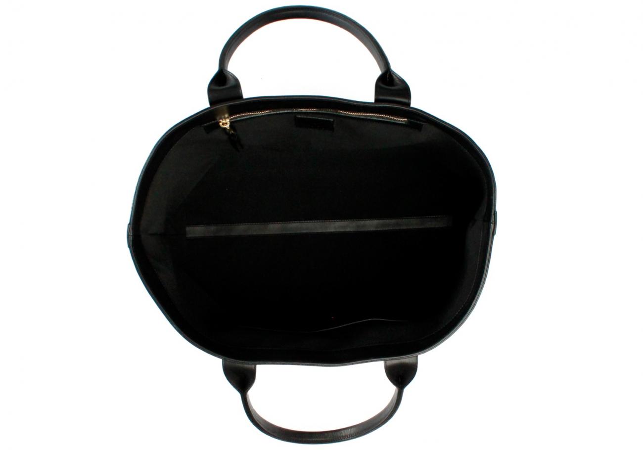 Black Sunbrella Lg Tote E