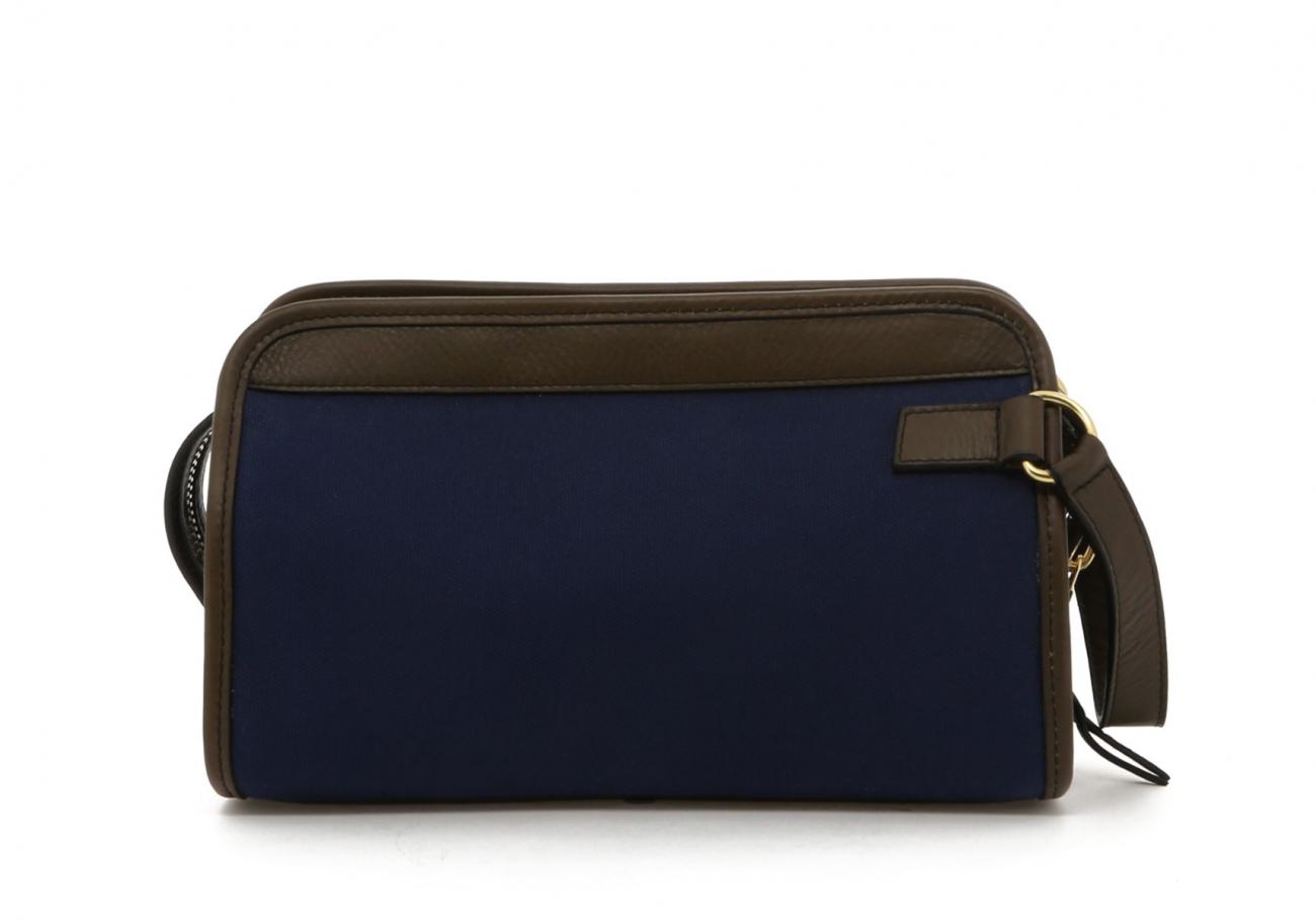 Blue Twill Travel Kit B